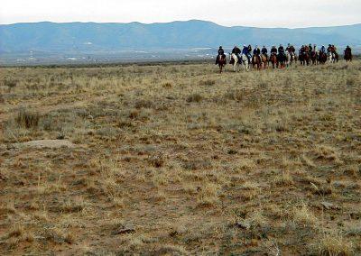 Horseback riding in La Semilla